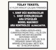 TÜLAY TEKSTİL